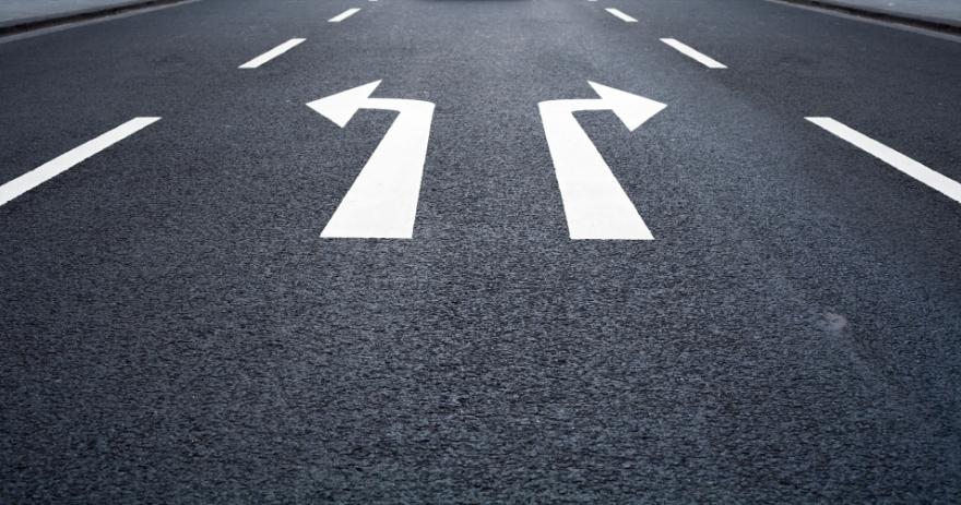 road, choices