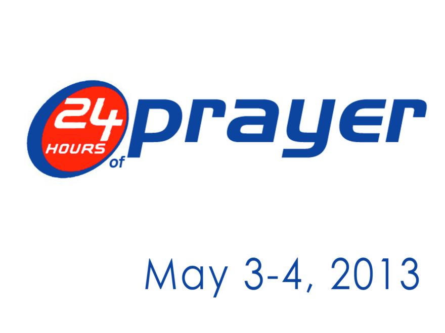 24hoursof prayer