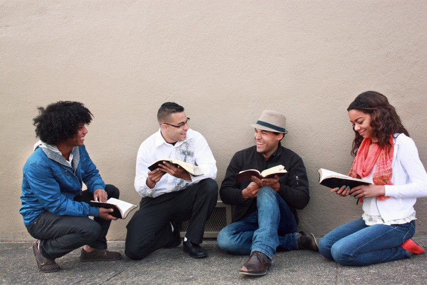 christians studying