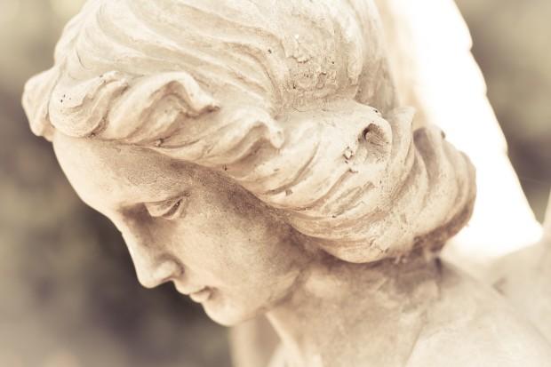Angel Sculpture Christian Stock Image