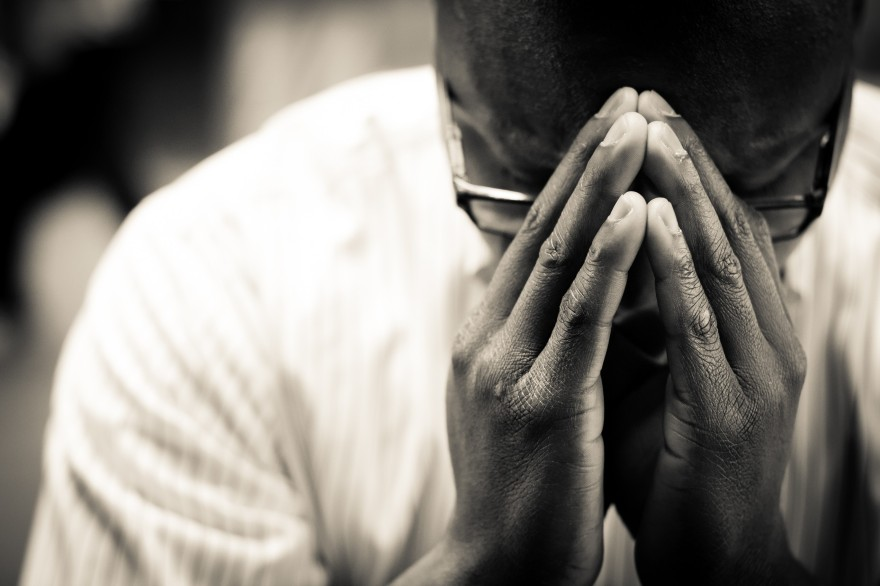 Man In Prayer