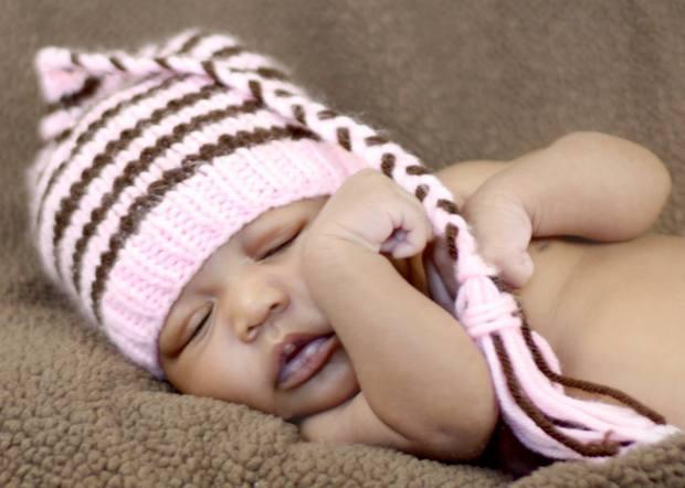little shelbi sleeping